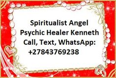 Love Spells Casters, Call / WhatsApp: +27843769238