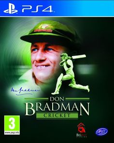 Don-Bradman-Cricket-14-ps4-playstation-4-game-cover-art  #PS4 #Playstation4 #games #Gaming PS4 Game Releases In February 2015 | High Score Blog