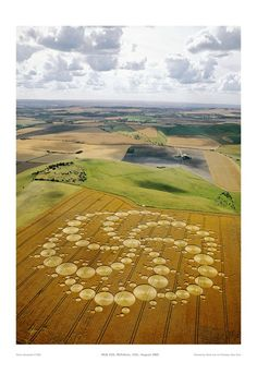 I love crop circles. Who cares who made them? They're amazing.