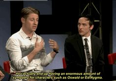 Ben McKenzie and Robin Lord Taylor - On Villains @ SDCC 2015 [x