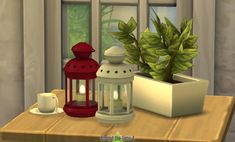 Around The Sims 4: Table Lighting – IKEA-like Rotera Candle • Sims 4 Downloads