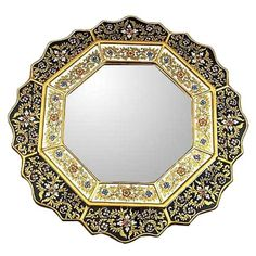 I pinned this Novica Black Star Wall Mirror from the Casablanca Chic event at Joss and Main!
