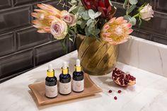 Pomegranate Seed Oil, Bath Caddy