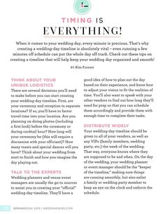 WeddingWire SPRINGBOOK 2015.  Be sure to make your own wedding time countdown!