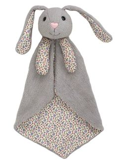 Delightfully soft, snuggly and cute organic baby security blankets from Apple Park are perfect for little ones to cuddle with. This pretty Picnic Pals Bunny blankie will be an instant best friend for your bundle of joy.