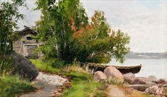 A Summer Day, Ellen Favorin Landscape Paintings, Landscapes, Summer Days, Finland, Oil On Canvas, Artists, Paisajes, Scenery, Landscape