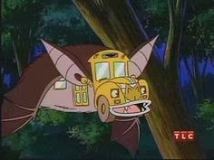 Magic School Bus Going Batty episode on Netflix. Why can't they make shows like this today?