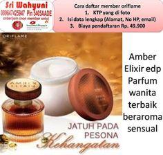 Sri Alfi 089647425947 / 5405AADE: Amber Elixir edp 11367 Parfum wanita diskon di kat...