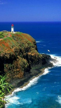 Kilauea Lighthouse, Kauai Hawaii It's just breath-taking Beach Honeymoon Destinations, Vacation Places, Dream Vacations, Vacation Spots, Places To Travel, Places To See, Kauai Hawaii, Oahu, Hawaii Usa