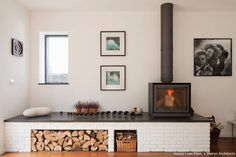 Wood burning stove of our dreams…. Wood burning stove of our dreams…. Home Fireplace, Living Room With Fireplace, Fireplace Design, Fireplace Ideas, Living Rooms, Fireplaces, Living Area, Wood Burning Stove Insert, Wood Burning Stoves