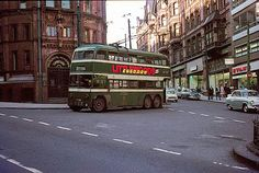 A Nottingham trolleybus at the King Street terminus, April Nottingham City Centre, Old Commercials, Good Old Times, Historical Images, Busses, Public Service, Train Station, Old Photos, Britain