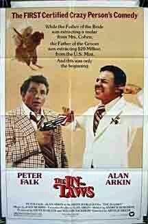 The In-Laws (1979)...2 funny guys:  I have flames on my car! .....Now, Shelly, don't be too upset.