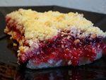 Тёртый пирог с брусникой и лимоном « Трапеза: рецепты блюд для поста и праздника
