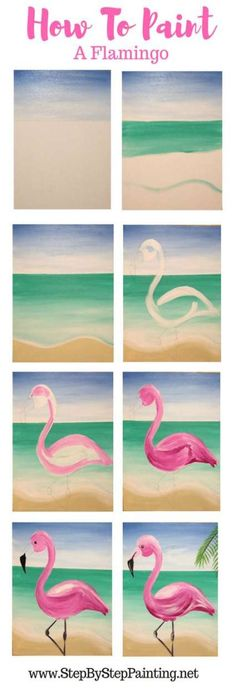 Painting tutorial canvas step by step canvases 35+ Ideas #painting