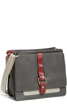 Chic crossbody for school.