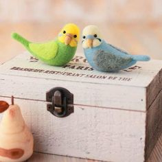 Needle Felting Parakeet