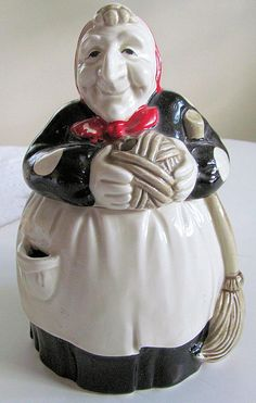 Vintage Fitz & FLoyd Ceramic WITCH by TextilesandOldThings on Etsy, $65.00