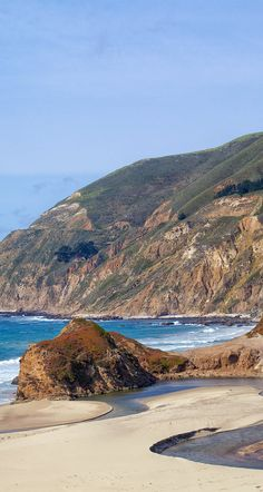 This view of the Big Sur River where it meets the ocean is just one of the things I love about Big Sur