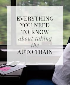 Taking Amtrak's Auto Train with Your Car from Washington DC to Florida