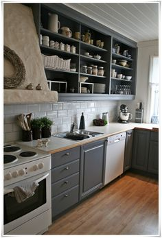 26 Kitchen Open Shelves Ideas