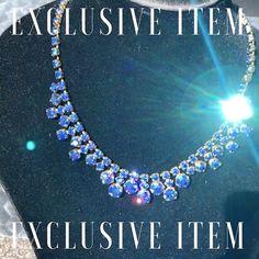 "VINTAGE AMARA on Instagram: ""Aurora Borealis 😍 click link in bio to shop - - - - #auroraborealis #auroraborealisjewelry #auroraborealisjewellery #mermaid #blue #green…"" Vintage Jewellery, Aurora Borealis, Blue Green, Mermaid, Diamond, Link, Etsy, Shopping, Jewelry"