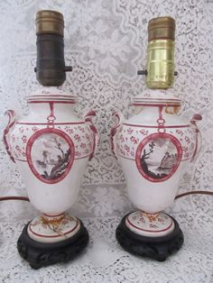 Vintage Vase Lamps For Supplies Repair by AuntSuesVintage on Etsy, $29.99