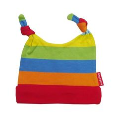 SPIG - Berretto a righe, bimbo, Multicolore (Multi Stripe), 6 mesi