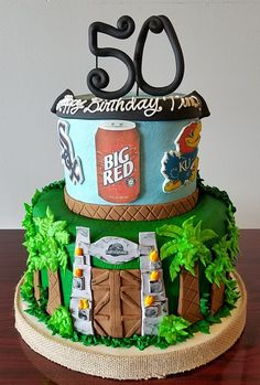 25 Best 50th Birthday Cakes Images In 2019