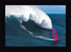 Hookipa On The North Shore Of Maui. Definitely one of my favorite places to windsurf back in the day.