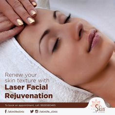Get glowing and radiant skin without any pigmentation. Book an appointment for Laser facial Rejuvenation at Dr. Book an appointment now: 9926580465 Laser Facial, Laser Surgery, Facial Rejuvenation, Indore, Radiant Skin, Appointments, Your Skin, Clinic, Therapy