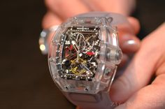 Richard Mille - All Sapphire crystal RM056