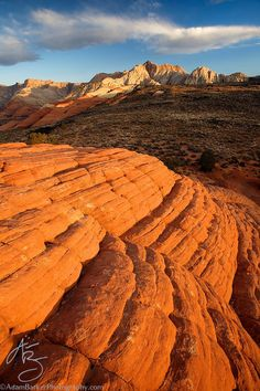First Light at Lava Point Overlook by AdamBarkerPhotography.com, via 500px; Snow Canyon State Park, Utah