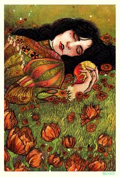 Storybook Illustration by Angela Rizza, via Behance Grimm, German Fairy Tales, Fanart, Fairytale Art, Fantasy Illustration, Tumblr, Cartoon Art, Faeries, Dark Art