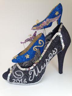Glitter Buzz Nola Shoe and Butterfly Puppets Shoe
