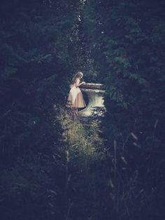 I found the well for the first time when I was a very little girl.
