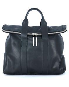 3.1 Phillip Lim Handtasche im puristischen Stil - schwarz  Jetzt auf kleidoo.de bestellen!  #kleidoo #trend #taschen #bag #accessoires #PhillipLim
