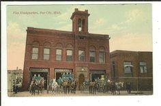 Fire Station, Bay City, MI.  Is this where our pole came from?  Could be...