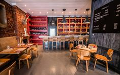 InHouse Brand Architects designed Carne Restaurant on Kloof with a passionate flair of Italian culture #inhouse #carne #Italy #foodie #yummy