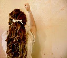 Get Bouncy Hair