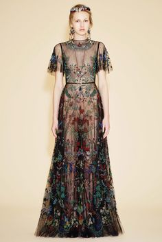 Valentino Resort 2016 Collection Photos - Vogue  A Christi Belcourt Inspired Design.  Native designs done right