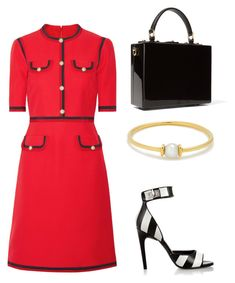 """Untitled #576"" by mchlap on Polyvore featuring Anissa Kermiche, Gucci, Givenchy and Dolce&Gabbana"