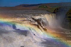 Der goldene Wasserfall von Michael H. Voß