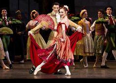 Paris Opéra - Ève Grinsztajn as the Street Dancer in Rudolf Nureyev's Don Quixote. Photo: Dance Europe ♥ Wonderful! www.thewonderfulworldofdance.com #ballet #dance