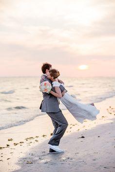 sweet beach portrait | Rodeo & Co #wedding