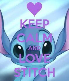 Day 6: Fave. Animal~ Stitch counts cause he's cute and fluffy!!!!