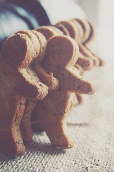 Gingerbread Men with coconut oil