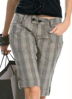 bermudas femininas de alfaiataria - Pesquisa Google