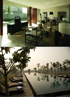 In the Kayumanis Private Villas there is now accommodation for even the most discerning guest in luxurios villas with exquisite interior. Nanjing, Floor To Ceiling Windows, Private Pool, Hot Springs, Wood Furniture, Villa, Spa, Flooring, Interior Design