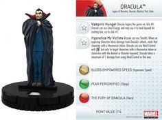 Dracula #016 Amazing Spider-Man Marvel Heroclix - Marvel: Amazing Spider-Man - Heroclix