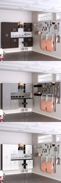 Free up precious floor space with a combination of wall mount cabinet storage and open wall panel storage. The Premium Storage Workstation includes 72 sq. ft. of panel, 5 cabinets, 6' work surface and 30 accessories.